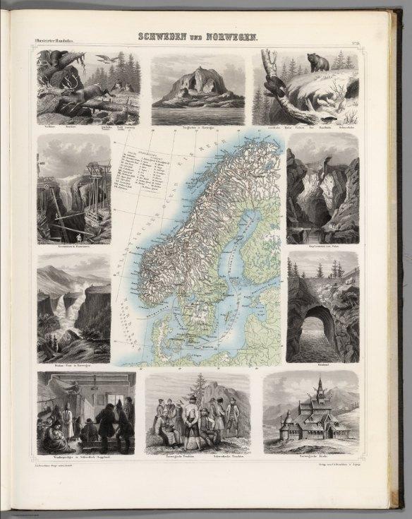 Sverige och Norge 1863