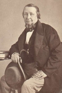 Svanberg, Lars Fredrik (1805-78), foto 1863, HS, Album 1, sid. 11